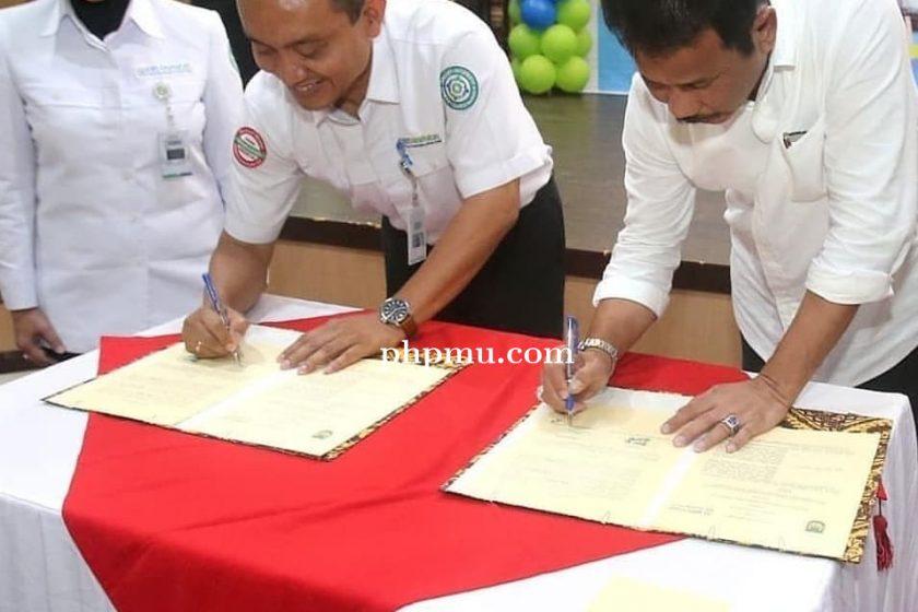 Penandatangan Kerjasama Pemerintah Kota Batam dengan BPJS