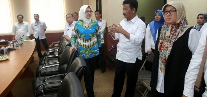 Walikota Tangerang Selatan Kunjungan membahas mengenai Pola Penerapan Tapping Box Batam