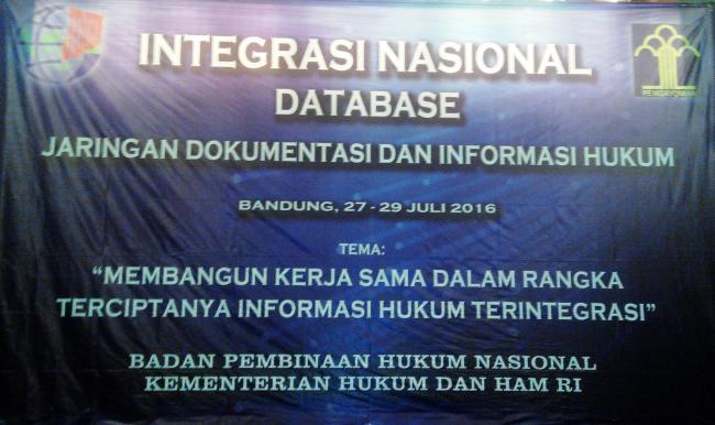 Integrasi JDIH Nasional