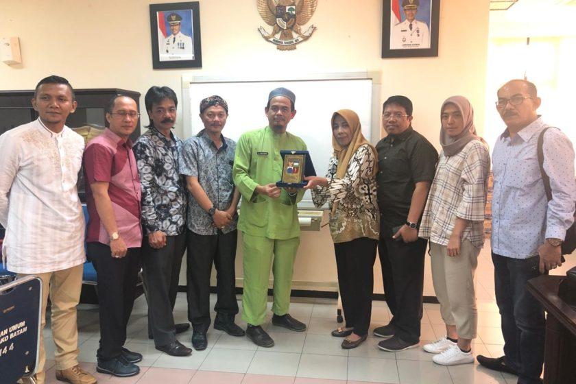 DPRD Kota Bogor Kunker Bagian Hukum Setdako Batam