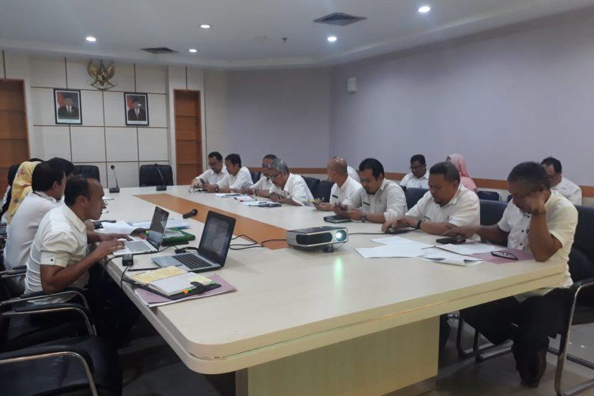 Rapat Pembahasan Rancangan Perwako tentang SOTK dan TUSI Sekretariat Daerah Kota Batam