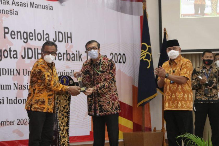 JDIH Kota Batam Menjadi JDIH Terbaik 1 Nasional 2020